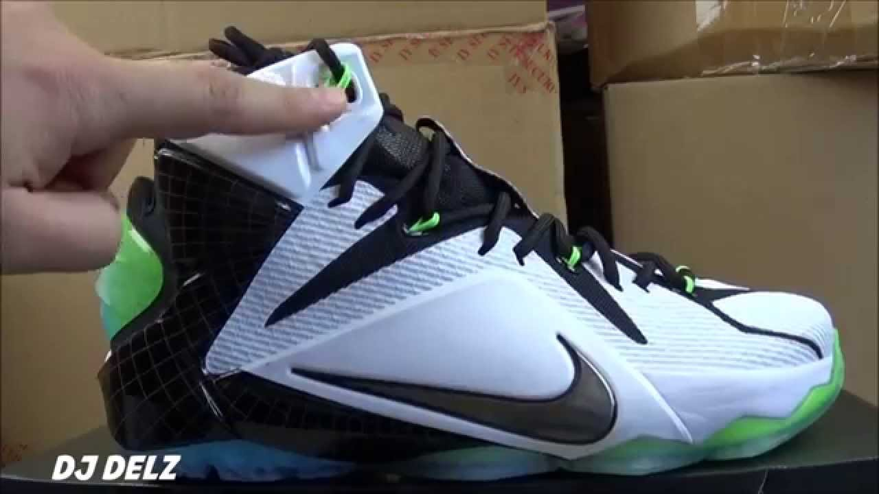 promo code 2ca27 14206 Nike Lebron 12 NBA All Star NYC Sneaker Detailed Review With @DjDelz ...