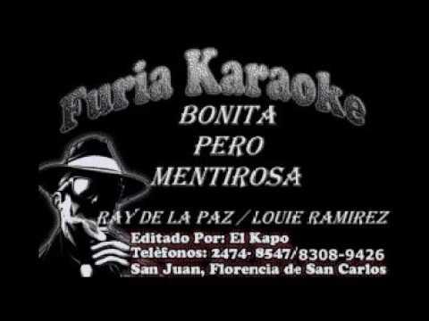 Karaoke El ladron de tu amor & mentirosa   ray de la paz & louie ramirez JJ