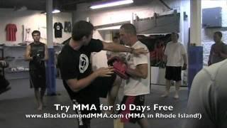 Jab – Cross – Thai Kick (MMA Combo)