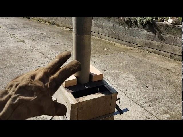Le retour du poele Pita : une autre version des rocket stoves