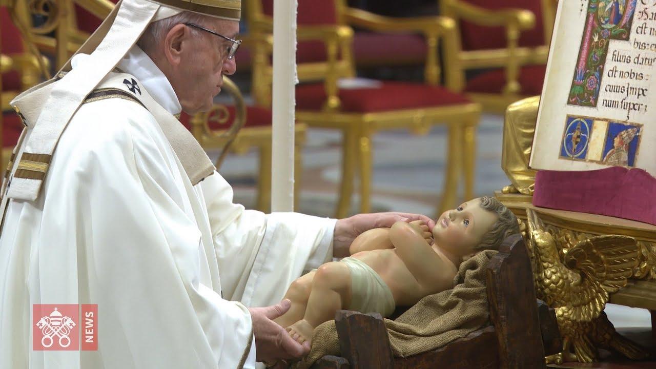 Znalezione obrazy dla zapytania papiez franciszek iżłóbek