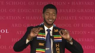Donovan Livingston's Harvard Graduate School of Education Student Speech thumbnail