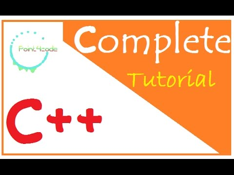C++ From Beginner To Expert Programming Tutorial  | The Complete Tutorial to Learn C++ point4code
