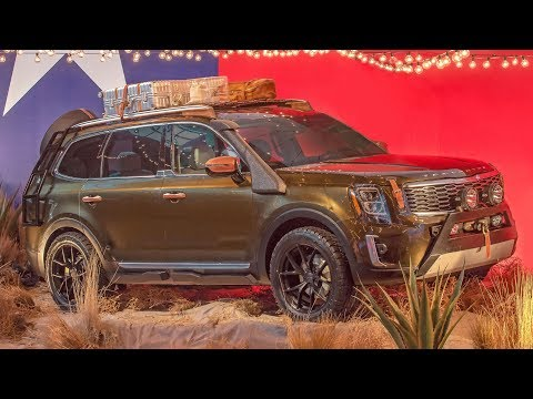 2020 Kia Telluride in New York Fashion Week