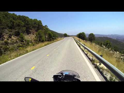 Spain A-397 Ronda - Marbella 2014 on our BMW R1200GS LC