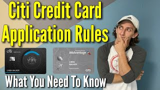 Citi Credit Card Application Rules | What You Need To Know