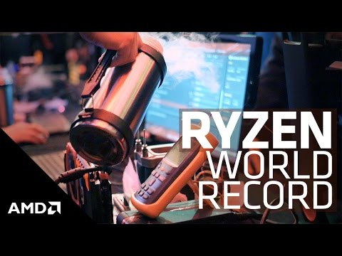 Overclocking World Record with AMD Ryzen™ 7 8-Core Processor
