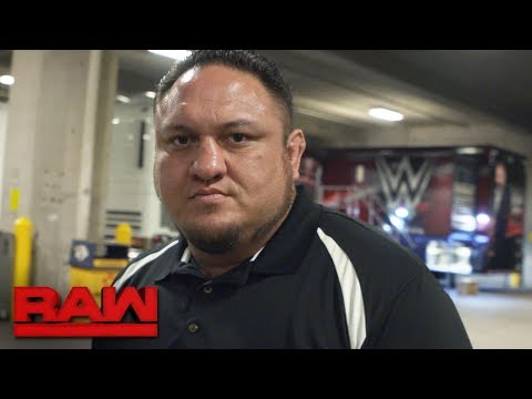 Samoa Joe vows to finish off Brock Lesnar at SummerSlam: Exclusive, July 17, 2017