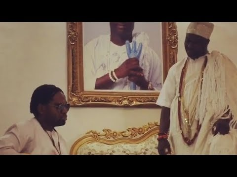 OBA ADEYEYE OGUNWUSI OONI OF IFE LISTEND TO COBHAMS SONG AND GREAT TRIP WITH K1 DE ULTIMATE MUSIC