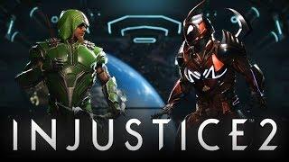 Injustice 2: New Green Arrow Hood Gear Finally REVEALED! (Injustice 2: Legendary Edition)