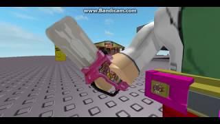 Kamen Rider Ex aid henshin [Roblox version]