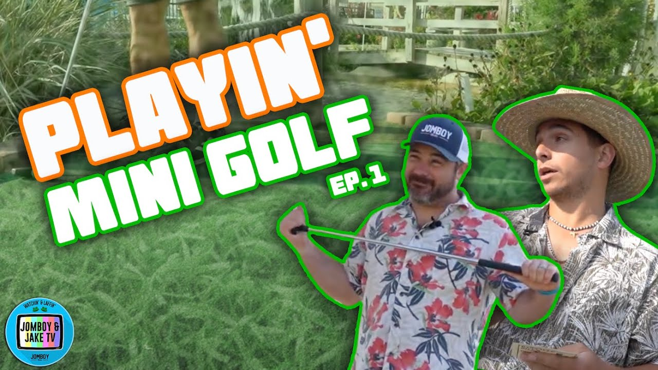 Intense Mini Golf Competition | Playin' Mini Golf (Front 9)