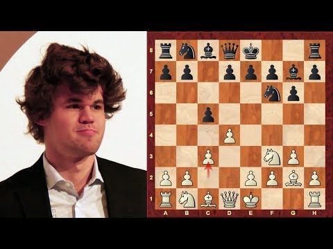 Amazing Chess Game: Magnus Carlsen vs Fabiano Caruana : Gashimov Memorial 2014 - Final Round 10