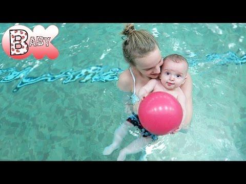 BABY LOVES TO SWIM!