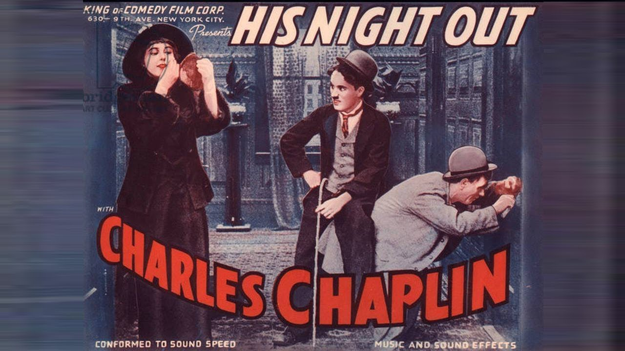 Charlie Chaplin In A Night Out (1915) Full Movie HD