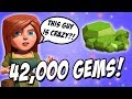 How To Get 42000 FREE GEMS !! | Clash Of Clans Free Gems | Not COC GEMS HACK