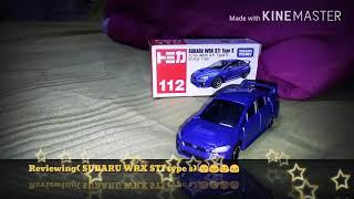 Tomica (Subaru WRX STI type s) 😊😉☺🌟