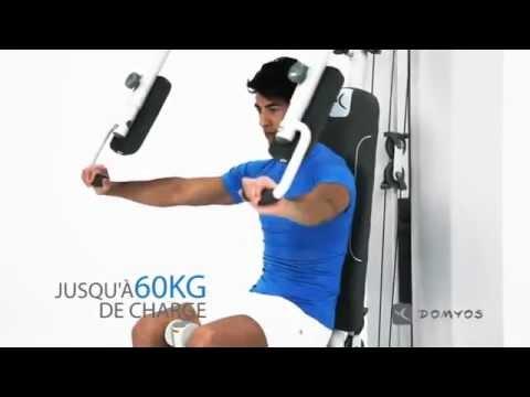 Domyos Home Gym 60 4 Youtube