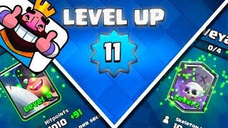 Finally At Level 11! | Epic And Legendary Upgrades! | Clash Royale