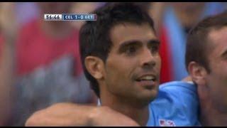Gol de Augusto Fernández (1-0) en el Celta de Vigo - Getafe CF Jornada 5