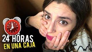 24 HORAS EN UNA CAJA DE CARTÓN | LA PEOR NOCHE DE MI VIDA | Lyna Vlogs
