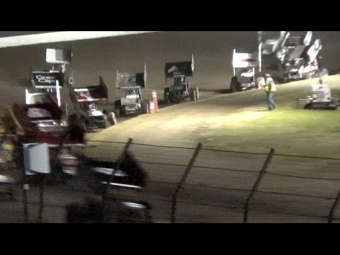 World of Outlaws MAIN 4-12-15 Calistoga Speedway - WOO