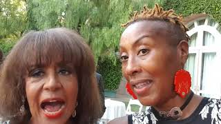 Esther talks to Sherrie Payne from The Supremes  HAL Award 2018