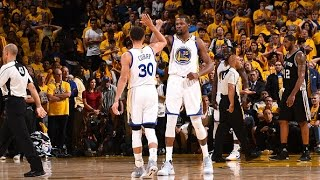 Stephen Curry and Kevin Durant Combine for 74 In Game 1! | May 14, 2017