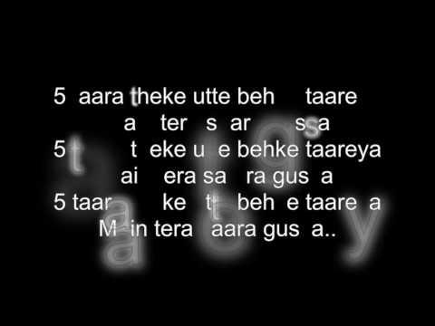 5 Taara Song Lyrics