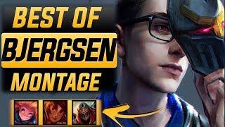 "Bjergsen ""The Legend"" Montage 2017 (Best Of Bjergsen) | League of Legends"