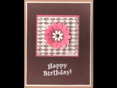 Easy Scrapbooking Birthday Card Ideas Youtube