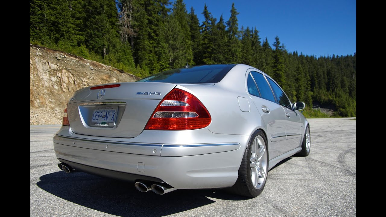 e55 amg w211 supercharged v8 cypress youtube. Black Bedroom Furniture Sets. Home Design Ideas