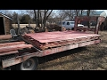 Milling Big Cedar Logs