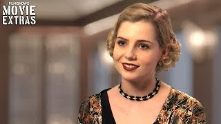Murder on the Orient Express | On-set visit with Lucy Boynton - Countess Andrenyi streaming