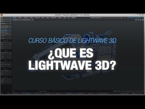 Curso básico de Lightwave 3D -  1. Que es Lightwave 3D?