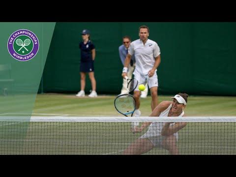 Andy Murray/Serena Williams Vs Bruno Soares/Nicole Melichar Wimbledon 2019 Third Round Highlights