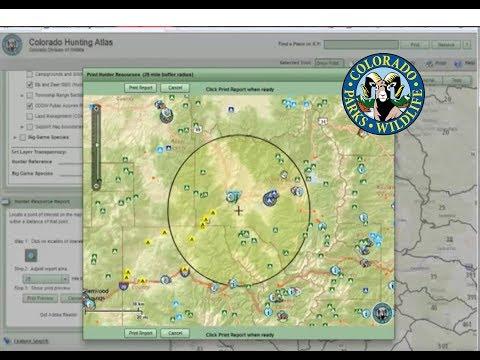 Colorado Hunting Atlas Tutorial - Hunter Resource Report