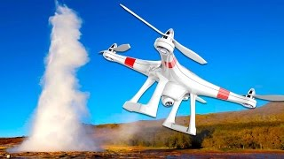 CRASHER SON DRONE EN ISLANDE