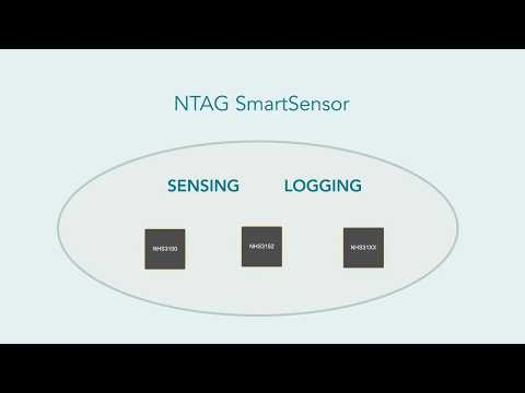 NTAG SmartSensor for NFC Sensing and Logging Applications