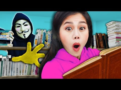 SPY NINJAS REVEAL CLUES In LIBRARY About PZ9! Spending 24 Hours Finding Melvin's Parents