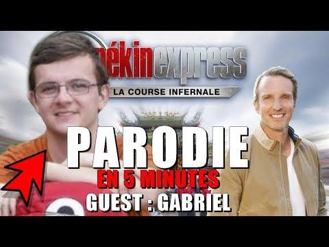 [Parodie] PEKIN EXPRESS 2018 Guest GABRIEL (Episode 6)