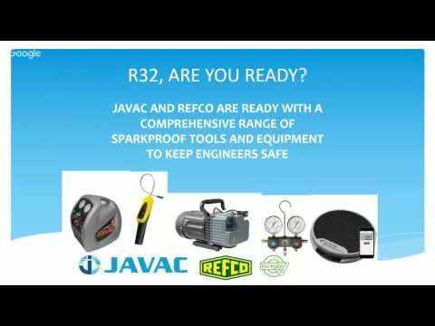 R32 Refrigerant: Free Webinar with the ACR Journal, A-Gas, JAVAC and Fujitsu