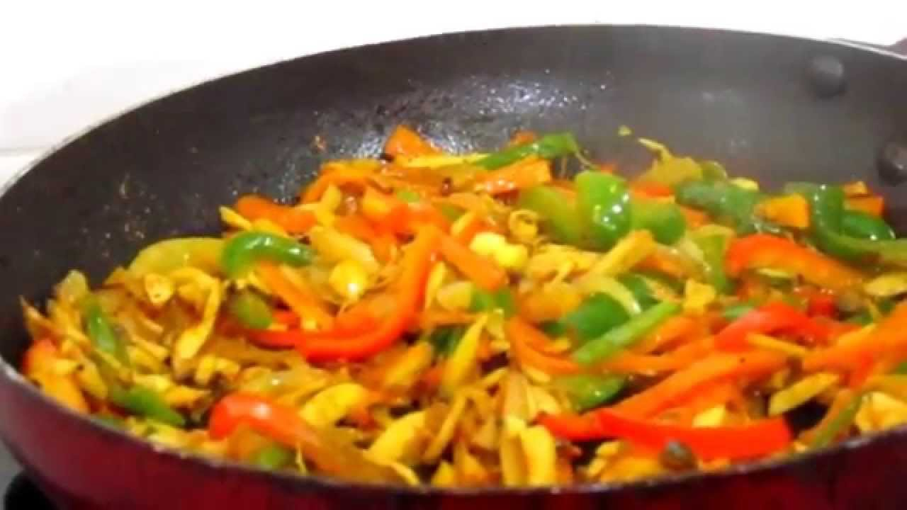 how to cook fried vegetables