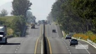 Seven severed heads found on highway in Mexico