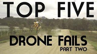 Top 5 Drone Fails (Part 2) | DronedOut