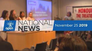 APTN National News November 25, 2019