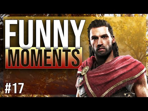 ASSASSINS CREED ODYSSEY - funny twitch moments ep.17 thumbnail