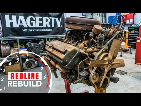 Chrysler Hemi FirePower Engine Rebuild Time Lapse