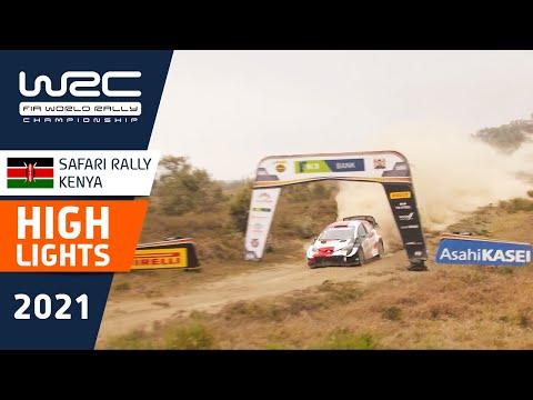 Final day at WRC Safari Rally Kenya 2021: Highlights Stage 15