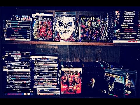 INSANE BLU-RAY COLLECTION UPDATE! 88 PICKUPS! SCREAM FACTORY, ARROW VIDEO, & VESTRON MEGA HAUL!